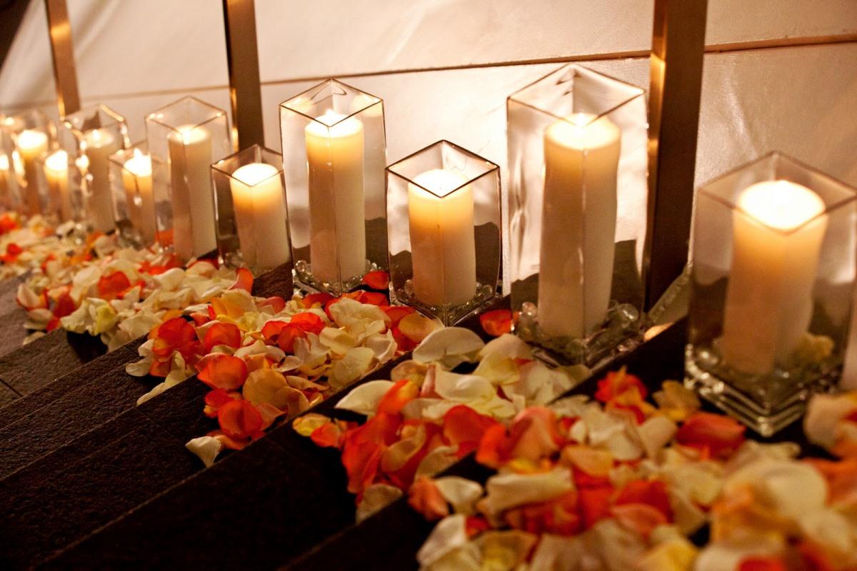 декор романтического вечера