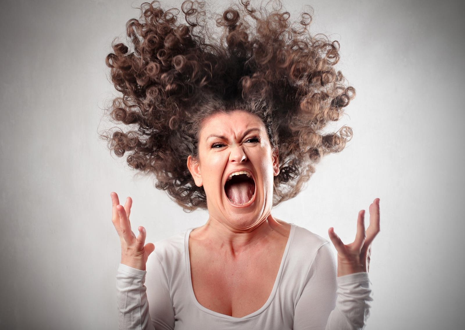Женщина в гневе