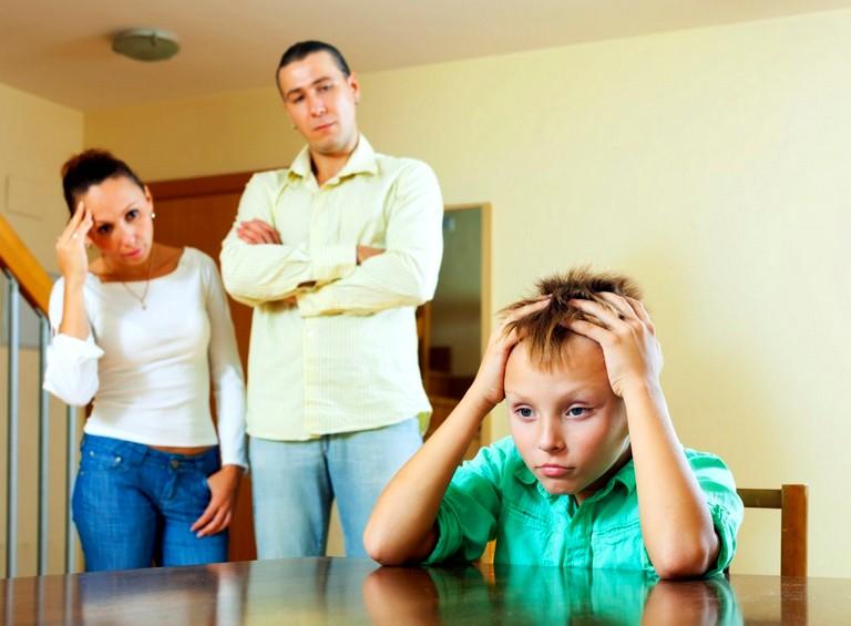 Общение родителей с ребенком