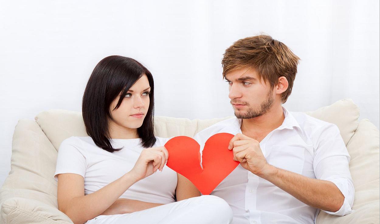 разрыв в отношениях