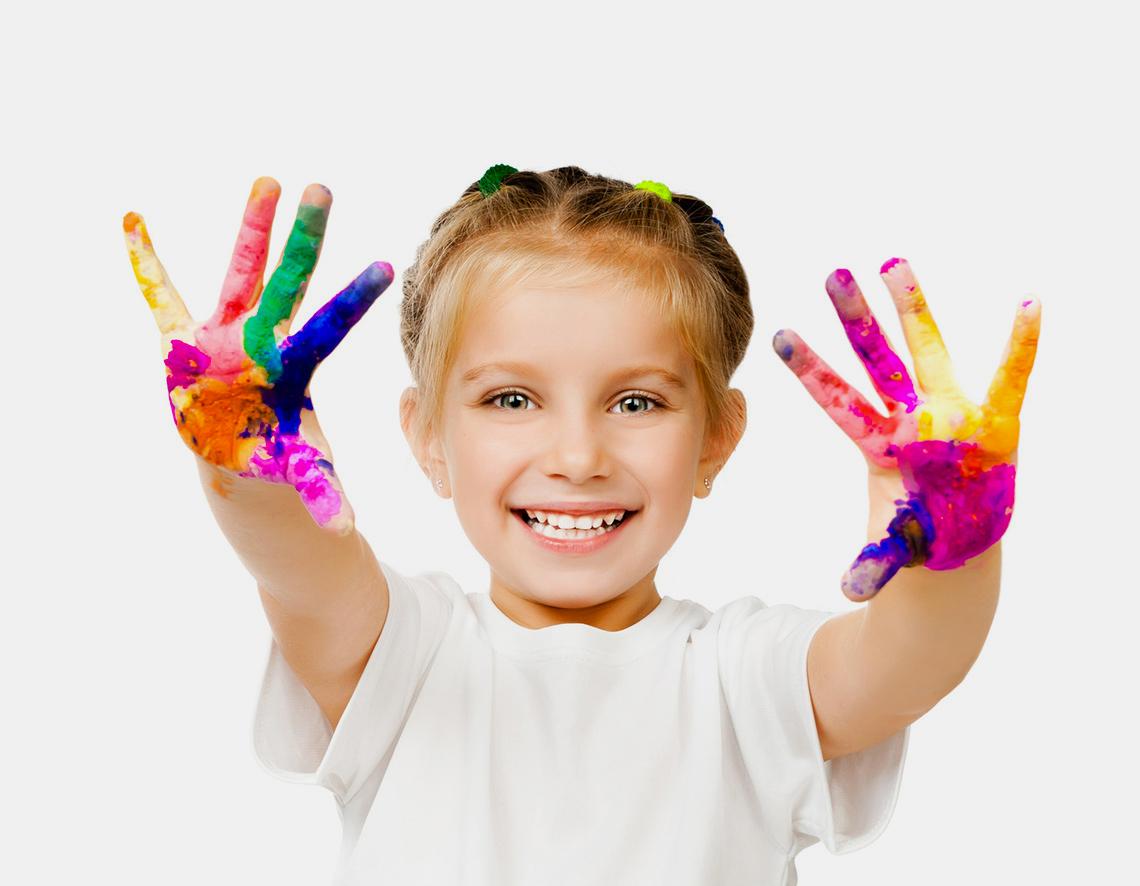 Занятия с ребенком арт-терапией