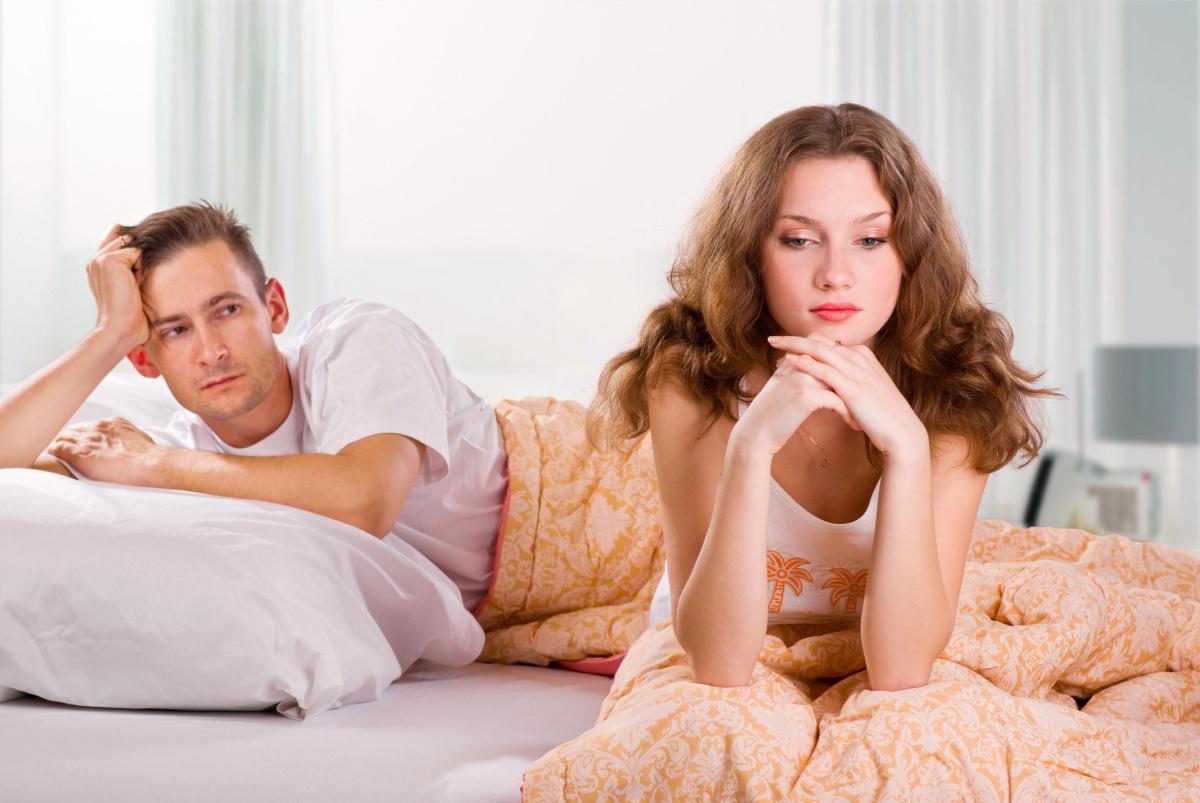 Нет тяги к сексуальной близости с мужем