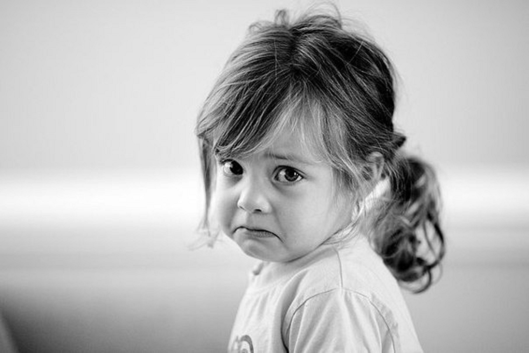 Девочка обижена